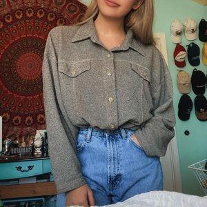 Slouchy Oversized Vintage Shirt
